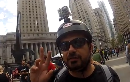 Livestreaming @ Occupy Wall Street