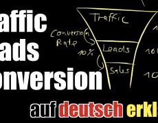 Leads? Conversion Rate? Traffic? Was ist das? – Internet Marketing auf deutsch erklärt