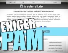 AntiSpam Tricks – Mit Trashmail vermeidest du Spam auch ohne Spamfilter